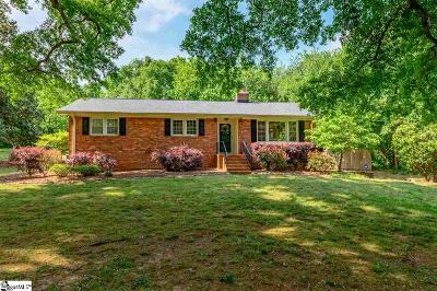 Greenville County Single Family Home Contingency Contract: 209 Viewmont