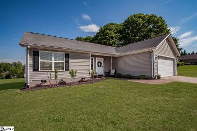 Lyman SC Single Family Home Contingency Contract: $162,500