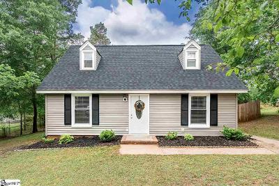 Simpsonville Single Family Home Contingency Contract: 216 Larchwood