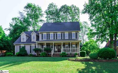 Easley Single Family Home For Sale: 208 Carson