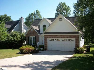 Taylors Single Family Home For Sale: 202 Ginger