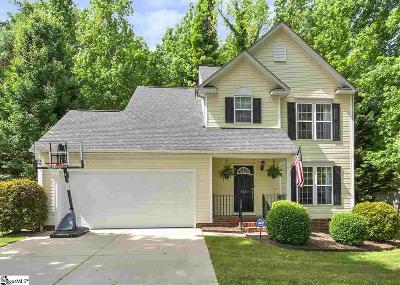 Fountain Inn Single Family Home Contingency Contract: 503 Scarlet Oak