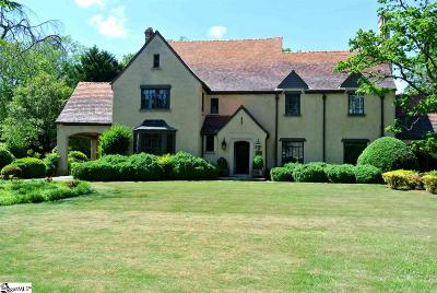 Spartanburg Single Family Home For Sale: 514 Otis