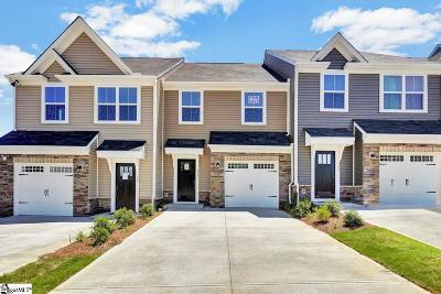 Spartanburg Condo/Townhouse For Sale: 318 Weststone #1200D