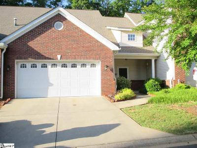 Greenville County Condo/Townhouse For Sale: 19 Butler Crossing