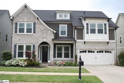 Greenville Single Family Home Contingency Contract: 30 Grove Valley