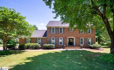 Simpsonville Single Family Home Contingency Contract: 114 Brandon