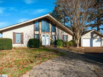 Easley Single Family Home For Sale: 505 Echo