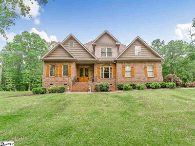 Pelzer Single Family Home For Sale: 121 Old River