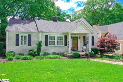 Greenville Single Family Home Contingency Contract: 15 Phillips