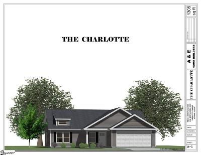 Simpsonville Single Family Home Contingency Contract: 104 Cloverdale