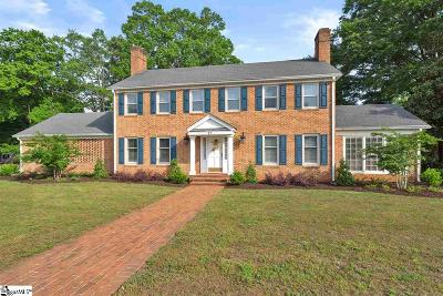 Inman Single Family Home For Sale: 17 B