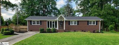 Taylors Single Family Home For Sale: 4 Strand