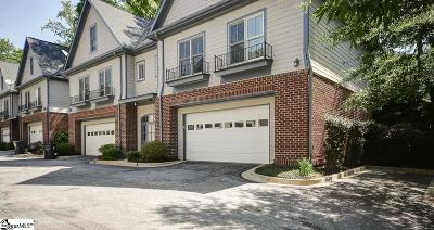 Greenville County Condo/Townhouse For Sale: 704 A Bennett