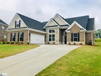 Boiling Springs Single Family Home For Sale: 406 Chippendale #Homesite