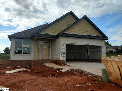 Taylors Single Family Home For Sale: 133 Shumard #Lot 40