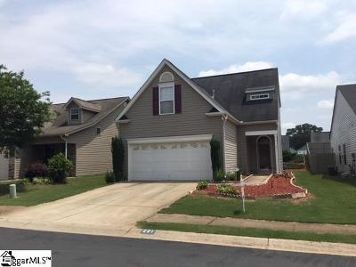 Spartanburg Single Family Home For Sale: 221 Dellwood