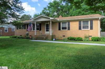 Greenville County Single Family Home For Sale: 9 Bertrand