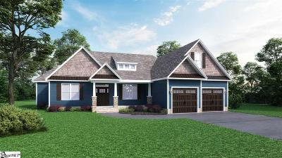 Greer Single Family Home For Sale: 100 Ridgefield #Lot 3