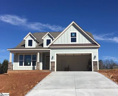 Greer Single Family Home For Sale: 102 Ridgefield #Lot 4