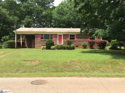 Greenville County Single Family Home For Sale: 33 Montis