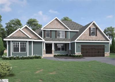 Greer Single Family Home For Sale: 104 Ridgefield #Lot 5
