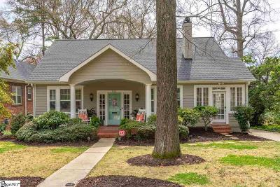 Spartanburg Single Family Home For Sale: 705 Otis