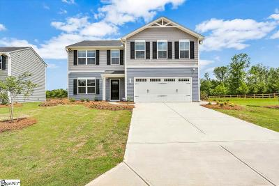 Inman Single Family Home For Sale: 506 Heavenly Days