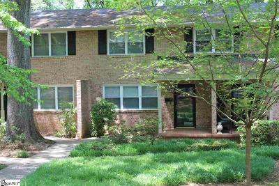 Greenville County Condo/Townhouse For Sale: 18 Knoxbury #Unit B