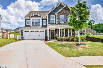 Greer Single Family Home For Sale: 411 Bienville