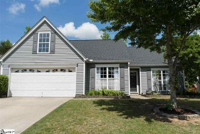 Spartanburg Single Family Home Contingency Contract: 312 Capstone
