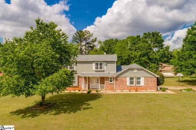 Mauldin Single Family Home Contingency Contract: 107 Whisperingbrook