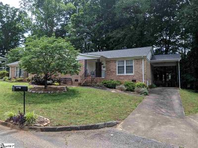 Greenville County Condo/Townhouse For Sale: 24 Twelve Oaks