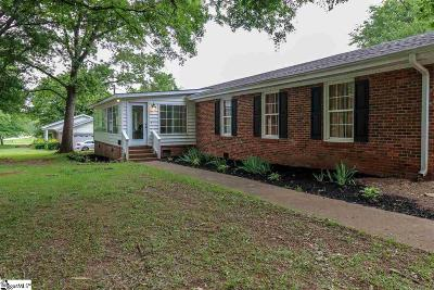 Easley Single Family Home For Sale: 500 Antioch