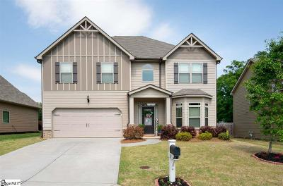Simpsonville Single Family Home For Sale: 117 Cameron Creek