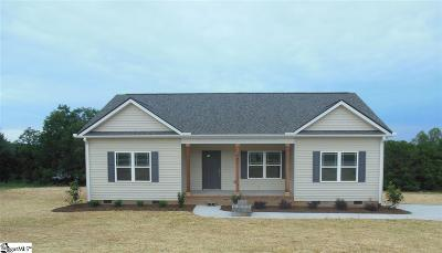Easley Single Family Home For Sale: 121 Wrentree
