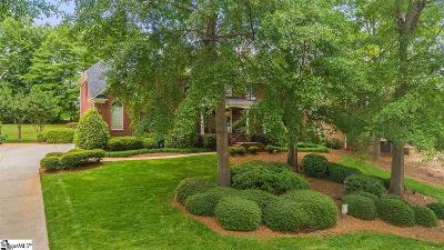 Simpsonville Single Family Home For Sale: 15 Sycamore Ridge