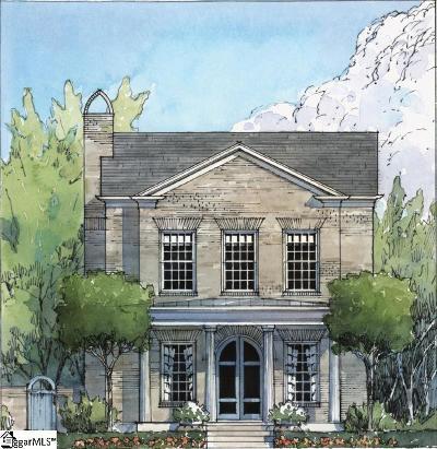 Greenville Single Family Home For Sale: 8 Topper #(Lot 43)