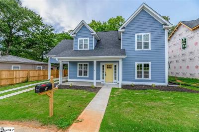 Greenville Single Family Home For Sale: 4 Aiken