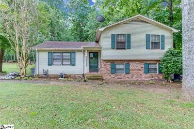 Mauldin Single Family Home For Sale: 500 Bethel