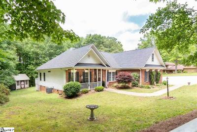Spartanburg Single Family Home Contingency Contract: 1750 Carolina Country Club