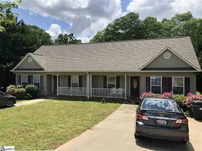 Spartanburg Multi Family Home For Sale: 160 Caldwell