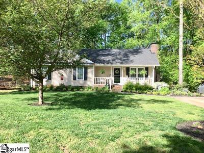 Greer Single Family Home Contingency Contract: 111 Oak