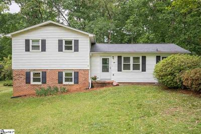 Travelers Rest Single Family Home For Sale: 241 Lorraine