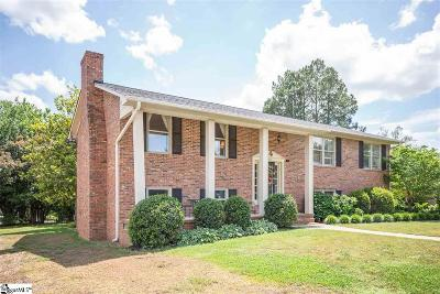 Anderson Single Family Home For Sale: 1206 Hanover