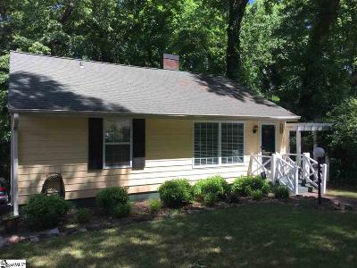 Spartanburg Single Family Home Contingency Contract: 198 Converse