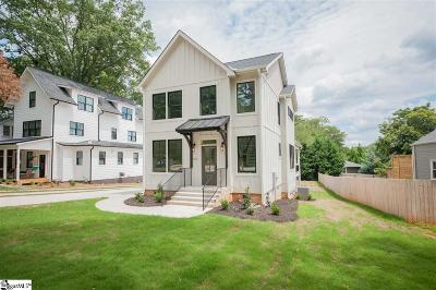 Greenville County Single Family Home For Sale: 806 Summit