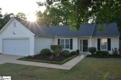 Mauldin Single Family Home Contingency Contract: 310 Hyde Park