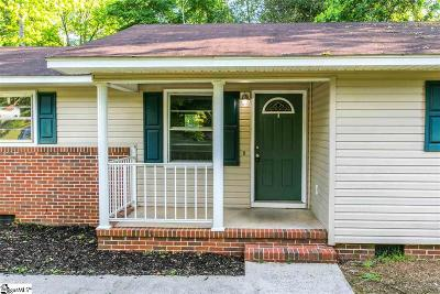 Simpsonville Single Family Home For Sale: 124 Ashdown