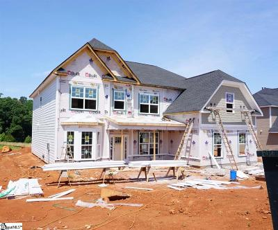 Simpsonville Single Family Home For Sale: 201 Lakeway #Homesite